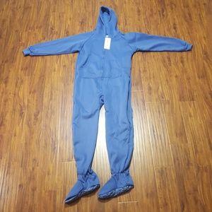 Brand new blue footed pajamas